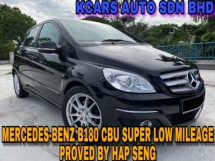 2012 MERCEDES-BENZ B-CLASS B180 SUPER LOW MILEAGE PROVED BY HAP SENG