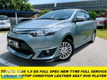 2017 TOYOTA VIOS 1.5G (AT) 1 LADY OWNER ORI PAINT TIPTOP CONDITION