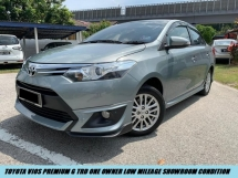 2017 TOYOTA VIOS 1.5G (AT) FACELIFT PREMIUM NEW VERSION HIGH SPEC TIPTOP CONDITION LIKE NEW CAR LOW MILEAGE ONE OWNER