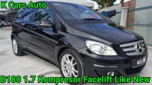 2012 MERCEDES-BENZ B-CLASS B180 1.7 CBU NEW FACELIFT FULL SERVICE BY MERCEDES TOTALLY KEEP LIKE NEW CAR CONDITION