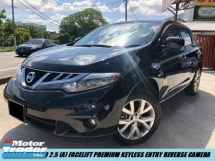 2013 NISSAN MURANO 250XL Facelift Full Spec Keyless Entry Low Mileage One Owner