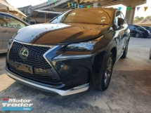 2017 LEXUS NX NX200 F Sport Power Boot