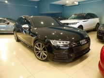 2018 AUDI S4 3.0 Wagon Avant S.Line Black Edition Full Option Spec. HIGHEST Grade CAR. Genuine LOW Mileage. Audi