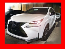 2016 LEXUS NX 200T F-SPORT UNREGISTERED *FULL SPEC*LAST UNIT*READY TO VIEW*