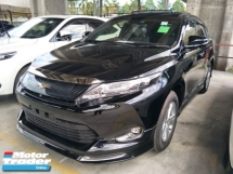 2017 TOYOTA HARRIER PREMIUM MODELISTA BODYKIT PANAROMIC 360 SURROUND CAMERA POWER BOOT 2 TONE SEMI LEATHER ELECTRIC SEAT