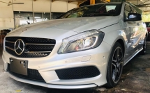 2014 MERCEDES-BENZ A-CLASS A180 1.6T ELECTRIC MEMORY HALF LEATHER SEAT , BLIND SPOT , DISTRONIC