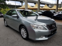 2013 TOYOTA CAMRY 2.0 G (A) Full Service Record