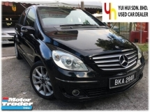 2008 MERCEDES-BENZ B-CLASS B170 1.7 (A) LADY OWNER