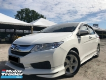 2016 HONDA CITY 1.5 E i-VTEC FULL LOAN TIPTOP CONDITION PUSH START !!!