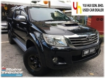 2013 TOYOTA HILUX  2.5 G VNT (A) 1 OWNER