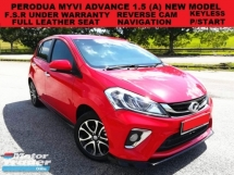2018 PERODUA MYVI 1.5 ADVANCED (A) FULL SERVICE RECORD UNDER WARRANTY LEATHER SEAT DVD PLAYER PUSH START REVERSE CAM