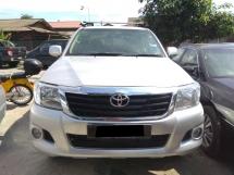2012 TOYOTA HILUX DOUBLE CAB STD 4X4 (M) DIESEL