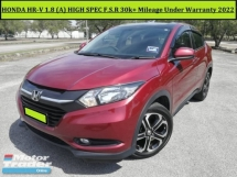 2017 HONDA HR-V HRV HIGH SPEC 1.8 V (A) F.S.R 30k+ Mileage Under Warranty Until 2022 CR-V CRV  SUV CAR