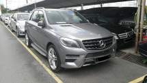 2014 MERCEDES-BENZ ML-CLASS ML350 AMG SPORT EDITION