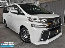 2016 TOYOTA VELLFIRE 3.5L ZAG EDITION RECON JAPAN ON SALE!
