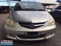2006 HONDA CITY 1.5 I DSI FACELIFT.7 SPEED.ONE OWNER ONLY.ORIGINAL BODY PAINT N MILEAGE 173K KM ONLY.REAR PARK SENSOR.ALL ORIGINAL CONDITION.NO NEED REPAIR.WORTH TO BUY.VIEW TO JUSTIFY