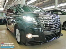 2016 TOYOTA ALPHARD S (8 SEATER SUNROOF EDITION)