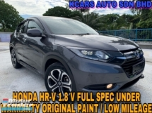 2017 HONDA HR-V UNDER WARRANTY FULL SVC RCD ORIGINAL PAINT