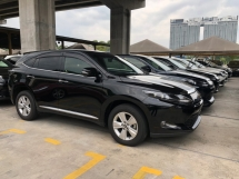 2016 TOYOTA HARRIER 2.0 3ZR-FAE Valvematic 7-SCVT 4 Surround Camera Automatic Power Boot Auto Power Seat Intelligent Bi LED Smart Entry Push Start Button Multi Function Steering 9 Air Bag Unreg