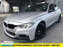 2016 BMW 3 SERIES 320I M SPORT PLUS M-PERFORMANCE SPORT EDITION LIMITED