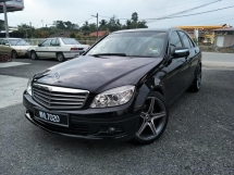 2008 MERCEDES-BENZ C-CLASS C180 KOMPRESSOR 1.8 (A) ONE OWNER