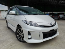 2014 TOYOTA ESTIMA 2.4AERAS PREMIUM WHITE OFFER UNREG