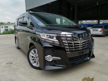 2016 TOYOTA ALPHARD 2.5 S PACKAGE ALPINE ROOF MONITOR OFFER UNREG