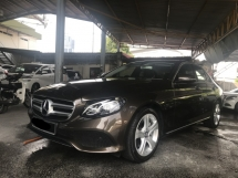2016 MERCEDES-BENZ E-CLASS E200 AVANTGARDE NEW MODEL WARRANTY TILL 2020 GENUINE MILEAGE 13K KM