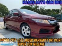 2017 HONDA CITY 1.5E UNDER WARRANTY ORI PAINT FULL SVC RCD