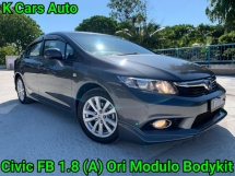 2014 HONDA CIVIC FB 1.8 S i-VTEC MODULO REALLY LIKE NEW CAR CONDITION GUARANTEE NO REPAIR NEED