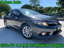 2014 HONDA CIVIC FB 1.8 S i-VTEC MODULO REALLY LIKE NEW CAR CONDITION GUARANTEE NO REPAIR NEED
