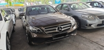 2016 MERCEDES-BENZ E-CLASS E200 AVANTGARD CBU ACTUAL YEAR MAKE  WARRANTY TILL 2020