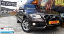 2014 AUDI Q5 2.0 ( A ) S-LINE QUATTRO TFSI AWD !! NEW FACELIFT !! PREMIUM FULL SPECS COMES WITH PADDLE SHIFT POWER BOOT AND ETC !! 8 SPEEDS !! ( MXX 77 ) 1 CAREFUL OWNER !!