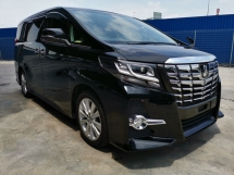2016 TOYOTA ALPHARD 2.5 S EDITION WITH ALPINE PLAYER/MONITOR - UNREG - READY TO VIEW