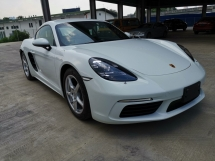 2017 PORSCHE CAYMAN 2.0 (M) Bose Sport Chrono Unreg Sale Offer