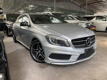 2014 MERCEDES-BENZ A-CLASS A180 AMG SPORT NIGHT EDITION ** 2 MEMORY SEATS / FULL LEATHER SEATS / FREE 2 YEAR WARRANTY ** OFFER OFFER