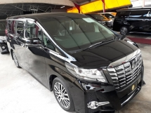 2016 TOYOTA ALPHARD SC 2.5 EDITION JAPAN ON SALE!