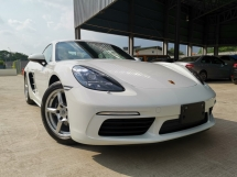 2017 PORSCHE CAYMAN 718 2.0 MANUAL TURBOCHARGE WHITE UNREG