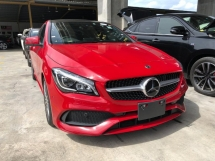2017 MERCEDES-BENZ CLA CLA200 CLA180 AMG Edition Fully Loaded Turbocharged Panoramic Roof Distronic Plus 2 Memory Bucket Seat Multi Function Paddle Shift Steering Intelligent LED Light Smart Entry Push Start Button Reverse Camera Unreg