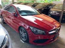 2017 MERCEDES-BENZ CLA 180 AMG SPORT PACKAGE FACELIFT PRECRASH MEMORY SEAT JAPAN UNREG