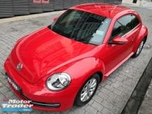 2012 VOLKSWAGEN BEETLE 1200 TSI Coupe