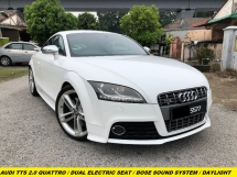 2010 AUDI TTS TTS QUATTRO BILSTEIN SUSPENSION DUAL ELECTRIC SEAT