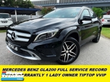 2016 MERCEDES-BENZ GLA GLA200 LOCAL SPEC FULL SERVISE RECORD  ORIGINAL PAINT HOUSE WIFE OWNER WEEKEND USED