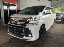 2015 TOYOTA VELLFIRE 3.5 ZG PILOT SEATS ** SUNROOF / PRE CRASH / MODELISTA KIT ** FREE 2 YEAR WARRANTY ** GRAB IT NOW