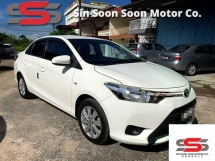 2014 TOYOTA VIOS 1.5 J Spec FULL(AUTO)2014 Only 1 LADY Owner, 48K Mileage, TIPTOP, DIRECT-Owner,ACCIDENT-Free with SERVICE RECORD, DVD,GPS+REVERSE Cam