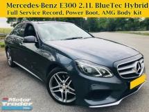 2015 MERCEDES-BENZ E-CLASS E300 BLUETEC HYBRID W212 FACELIFT E200 E250 Premium Spec
