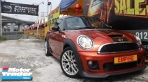 2012 MINI COUPE S COUPE 1.6 ( A ) TURBO !! PACEMAN JCW EDITION !! NEW FACELIFT !! PREMIUM FULL SPECS THAT COMES WITH I-DRIVE KEYLESS ENTRY PADDLE SHIFT AND ETC !! ( AKK 9916 ) 1 CAREFUL OWNER !!