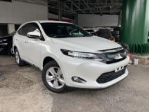 2014 TOYOTA HARRIER 2.0 ELEGANCE ** MANY UNIT TO CHOOSE / BLACK COLOR AVAILABLE ** FREE 2 YEAR WARRANTY ** GRAB IT NOW