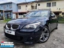 2007 BMW 5 SERIES 525I M-SPORT 2.5 (A) LCI FULL SPEC PROMOTION PRICE.