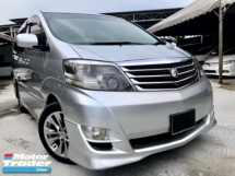 2007 TOYOTA ALPHARD 3.0 (A) TWIN POWER DOOR LUXURY MPV 7 SEATER